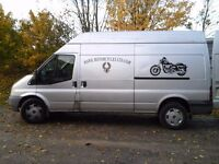 HAWK MOTORCYCLE/MOTORBIKE TRANSPORT COLLECTION/DELIVERY SERVICE- DORSET BASED