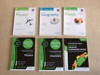 SQA National 5 Study Guides & Past Papers; Physics Geography French & Physics Chemistry Graph Com