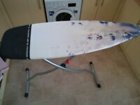 Brabantia Ironing Board - Heat Resistant Parking Zone, Without Linen Rack, Size D135x45cm - Lavender