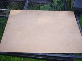 hardboard sheets 3 ft x2 ft approx . 4mm thick