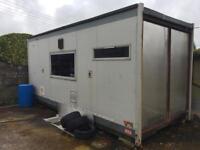 Storage cabin, unit, container