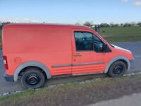 Red Ford Transit Connect – T200 SWB – 2006 – Low Mileage