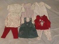 Girls Baby Clothes Bundle (NewBorn)