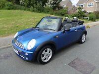 Mini One/2006 Convertible in Hyper Pearl/Dolphin leather,March Mot 2017,2 owner,FDSH books/keys,Mint