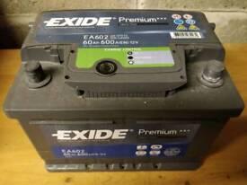 Exide premium 075 car battery