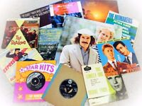 Large Selection of 50s/60s Vinyl (45s & LPs)
