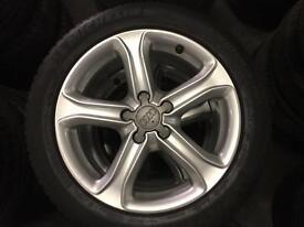 "2014 17"" Audi A4 Technik Edition Alloys"