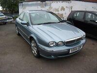 2004 JAGUAR X-TYPE 2.1 V6 SE BLUE 12 MONTH M.O.T.