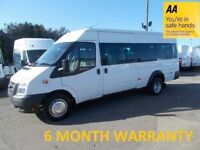 Ford Transit 430 2.4 TDCi 100 17 Seat Ex Frame Mini Bus**ONLY 41,000 MILES**DIRECT from MOD***