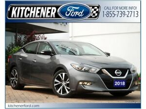 2018 Nissan Maxima *LEATHER | REAR CAM | ONLY 31K KM'S | LIKE...