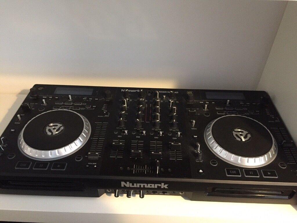 Numark Mixdeck Quad 4 Channel Universal DJ System