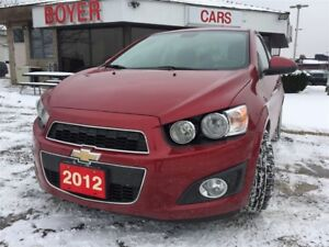 2012 Chevrolet Sonic LT | Sunroof | COMING SOON