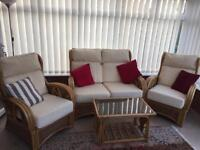 Conservatory furniture set in