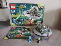 Lego Space Alien Conquest UFO Abduction 7052
