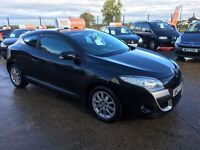 Late 2010 Renault Megane 1.5 DCI Diesel Coupe **1 Owner** *Warranty* (astra,golf,focus)