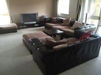 Very Large Italian luxury handmade sofa set