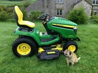 John Deere X584 Ride On Mower/Garden