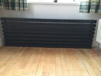 Vertical radiator 1800x600 never been used in grey