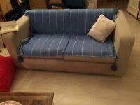 Perfect condition 2 seats sofa-Beige-HABITAT