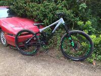 2017 Cube Fritzz 180 Downhill/Enduro bike