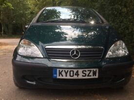 Mercedes A 140-Automatic-1.4 -2004-Full MB History-One Lady Owner- Immaculate