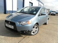 AUTOMATIC MITSUBISHI COLT CZ2 5 DOOR LOW MILEAGE 6700 CHEAP TO RUN NICE CONDITION