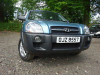 08 HYUNDAI TUSCAN 2.0 GSI 4X4,MOT APRIL 018,2 OWNERS,2 KEYS,PART HISTORY,VERY LOW MILEAGE 4X4 JEEP