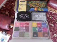Soft Artist Pastels, Inkpads & Decorating Chalks