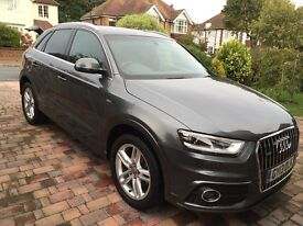 Audi Q3 Daytona Grey Automatic Diesel - LOW MILEAGE - Very Good Condition