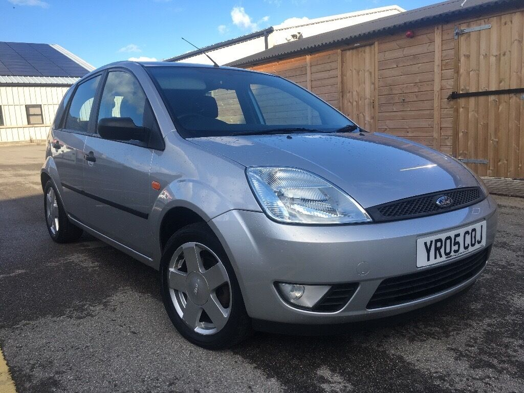 2005 FORD FIESTA ZETEC 1.4 PETROL 5 DOOR HATCHBACK