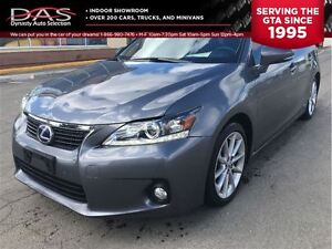 2012 Lexus CT 200h PREMIUM PKG LEATHER/SUNROOF