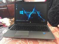 Hp probook G1 core i5-4200M 128GB SSD win10 laptop