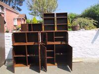 Kitchen / Workshop / Office Wooden Storage Cabinets