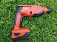 HILTI TE 2-A22 Cordless rotary hammer PLUS 3.0AH BATTERY