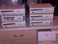 xbox 360 x 6 joblot spares or repair email only