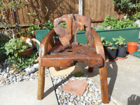 Indoor Outdoor Teak Rootwood chair