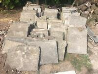 Concrete paving slabs (SOLD)