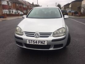 VW Golf 1.9TDI 2004 (54Reg) 5dr. Silver