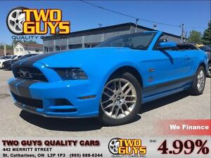 2013 Ford Mustang V6 Premium LEATHER CHROME MAGS