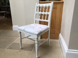 Hand Painted Vintage Occasional Chair