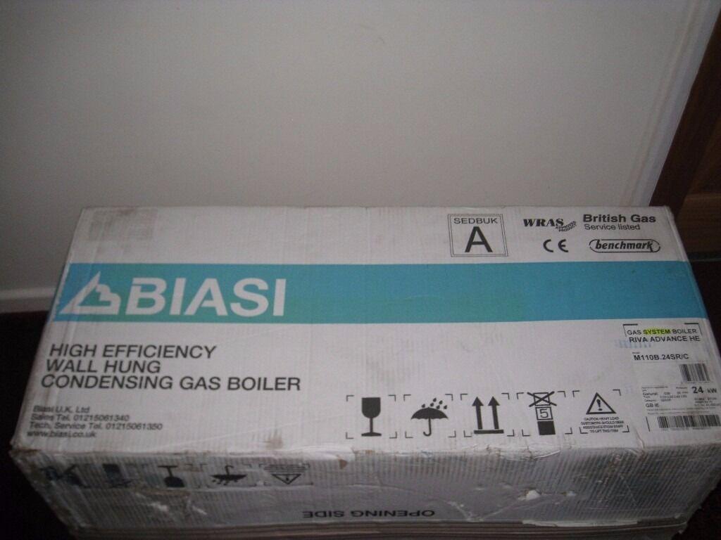 Biasi High Efficiency Riva Advance HE Condensing Gas Boiler 24HE ...
