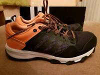 Adidas Size 7 Black/Coral Brand New