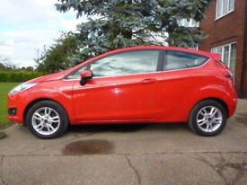 Ford Fiesta 1.25 Zetec 3 Door Hatchback - Brilliant Red