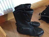 Men's heingericke motorbike boots size 11