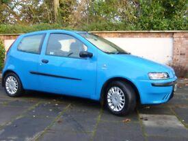 2003 Fiat Punto 1.2 Full MOT 85K miles great little car!!