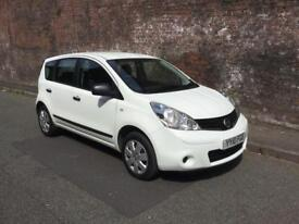 2010/10 NISSAN NOTE 1.4 PURE DRIVE VISIA FULL SERVICE HISTORY 1 OWNER FROM NEW !!!
