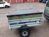 Maypole tipping trailer