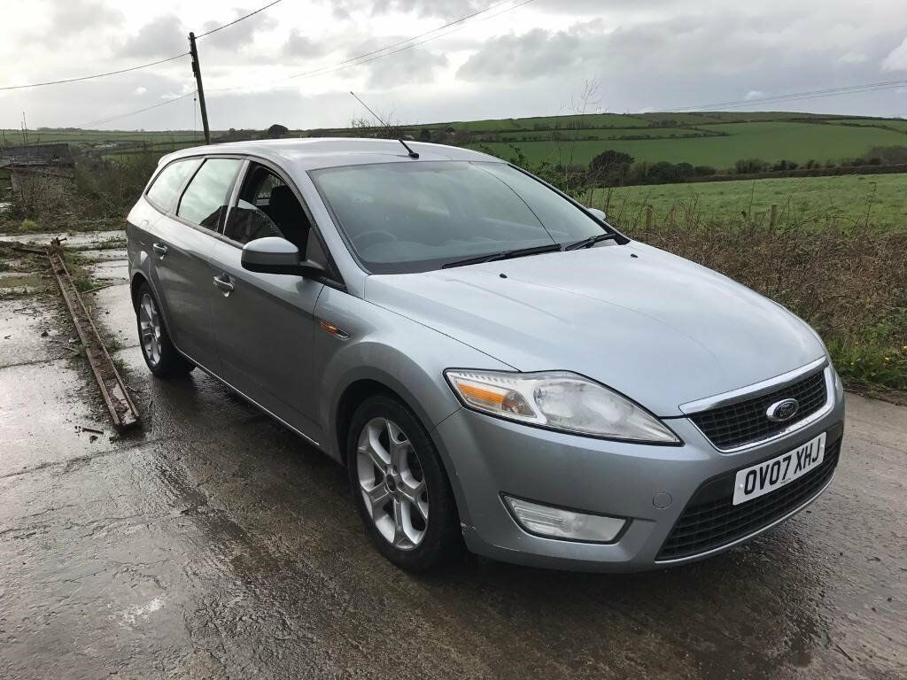 ford mondeo zetec 1 8 tdci 125 silver estate 2007 diesel in newquay cornwall gumtree. Black Bedroom Furniture Sets. Home Design Ideas