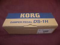 Korg DS1H / DS-1H Sustain , Damper Pedal / Brand New !