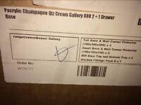 Champagne 800 2+1 Drawer Base